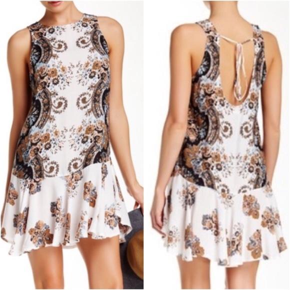 abfaf39d38c7 Free People Dresses | Dobby Dot Flounce Hem Slip Dress M | Poshmark